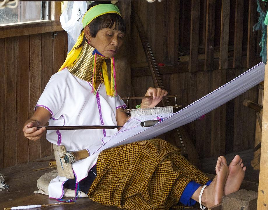 Tajemství žirafích žen v Thajsku