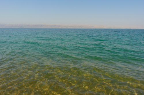 Co je možná nevěděli o Mrtvém moři